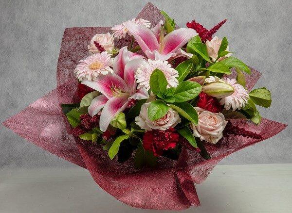 Sweet Blush floral bouquet